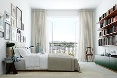 My ideal home is your daily source of interior design, architecture, home ideas and interior inspirations. Home Bedroom, Bedroom Decor, Lux Bedroom, Calm Bedroom, Master Bedroom, Bedroom Balcony, Modern Bedroom, Oscar Properties, Floor To Ceiling Curtains