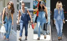 """According to Pantone Color Institute """"Classic Blue"""" is the color of the year for Cici Celia BOTTEGA VENETASo get ready to ditch Black for Blue this season Kind Of Blue, Dior, Saint Laurent, Chanel, Denim Overalls, Pantone Color, Bell Bottom Jeans, Mom Jeans, Street Style"""