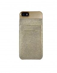 Champaign Gold iPhone 5/5s case with card holder
