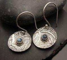 Fabulous Labradorite Cab and Fine Silver by designsbysuzyn on Etsy