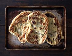 Baking Basics -- How to Make Grilled Flatbread