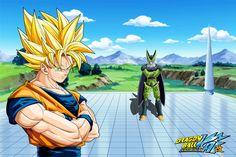 Dragon Ball Kai Tags: DRAGON BALL, Son Goku (DRAGON BALL), Super Saiyan, Cell (DRAGON BALL)