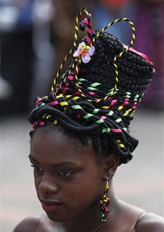 Afro-Colombian Hairstyles That Defy Gravity