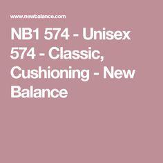 NB1 574 - Unisex 574 - Classic, Cushioning - New Balance