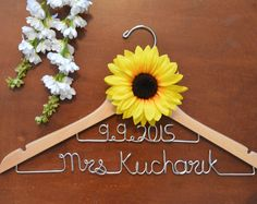 Personalized Wedding Hangers and Bridal Shower by TwistedHangers