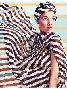 stripes on silk #graphic #stripes #B&W - Carefully selected by @Gorgonia www.gorgonia.it