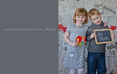 newspaper backdrop - cute for Valentines pictures.. OR  a baby announcement!