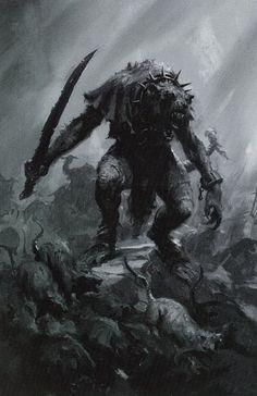 Fantasy Battle, Fantasy Races, High Fantasy, Fantasy Rpg, Medieval Fantasy, Warhammer Skaven, Warhammer Art, Illustrations, Illustration Art
