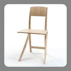 Chair No 6 - Animation for a better impression of the very light and elastic chair. The light sculptural design fits perfect into small rooms. Cantilever Chair, No 6, Small Rooms, Crafts For Kids, Animation, Unique, Furniture, Design, Home Decor