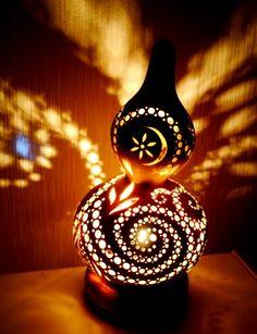 japanese gourd lamp...