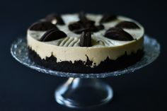 cheesecake cu oreo (3) Oreo, Cheesecake, Desserts, Food, Tailgate Desserts, Deserts, Cheesecakes, Essen, Postres