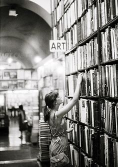 They say you can tell a lot about a person, by the first places they go to when they enter a bookstore. Where do you go first? I go to the Art/interior design/ Architecture areas first. ~BlackCat