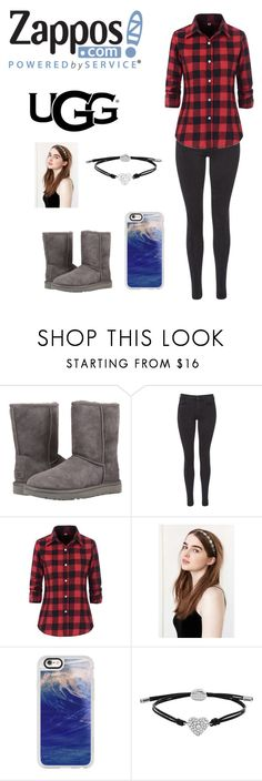 """""""The Icon Perfected: UGG Classic II Contest Entry"""" by mckenzie3278 ❤ liked on Polyvore featuring UGG Australia, Maison Scotch, Urban Outfitters, Casetify, FOSSIL, ugg and contestentry"""