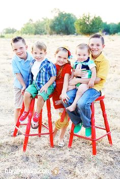 family photos - pose for 5 kids - hiya papaya PHOTOGRAPHY