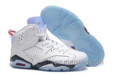 http://www.bejordans.com/where-to-buy-nike-air-jordan-vi-6-retro-mens-shoes-white-new-blue-big-discount-wcynn.html WHERE TO BUY NIKE AIR JORDAN VI 6 RETRO MENS SHOES WHITE NEW BLUE BIG DISCOUNT WCYNN Only $94.00 , Free Shipping!