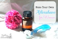make your own aftershave for men or women #beauty #craft #diy #sponsored