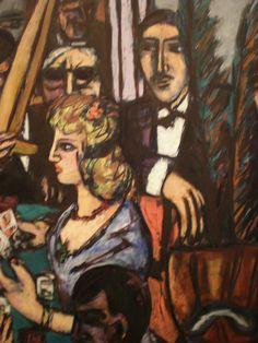 Max Beckmann 1947 Baccarat, Nelson-Atkins Museum of Art, Kansas City, Missouri | Flickr - Photo Sharing!