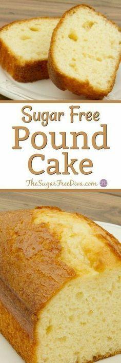 Sugar free pound cake recipes