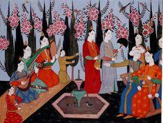 """Minyatür Sanatı        Osmanlıda Minyatür  Batı dillerinde bir nesnenin küçük boyutlardaki örneğini belirten """"Minyatür"""" sözcüğü, zama..."""