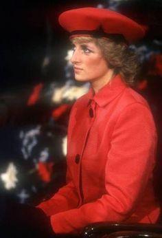 Diana Red beret