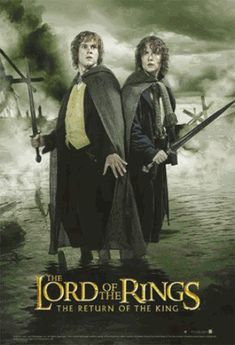 Merry & Pippin ROTK Poster   Lord of the Rings Return of the King Posters Shop