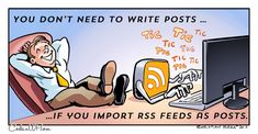 RSS feeds to the rescue!