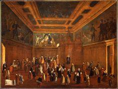 """""""La Sala della Bussola"""", 1779?-1792 #gabrielbella #querinistampalia"""