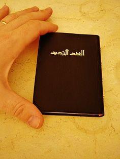 Arabic Pocket New Testament / Black PVC Cover Arabic NT 212 الكتاب المقدس-الحياة مع الله ب المسيح