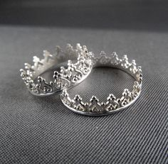 Princess Crown Ring - so I can feel like a princess, too!