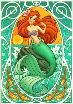 Princess Ariel - disney-princess Fan Art