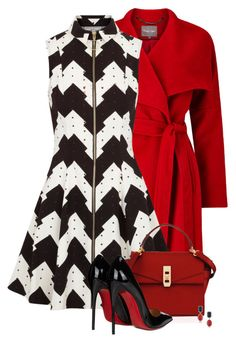 """Untitled #5744"" by barbarapoole ❤ liked on Polyvore featuring Phase Eight, Opening Ceremony, Henri Bendel, Christian Louboutin and 1st & Gorgeous by Carolee"