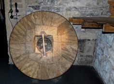 The Millstone at the Old Jameson Brewery in Dublin brings 10 years of good luck to anyone who touches it three times - http://www.worldwidewriter.co.uk/2013/10/Learning-to-love-Irish-whiskey.html