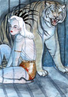 Tiger Cage by Johanna Öst