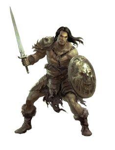 m Barbarian w shield