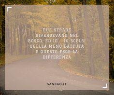 tu quale #strada prendi ?