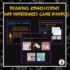 Grab all five of my drawing conclusions and inferences games and SAVE 20%! Let the students be the detectives and determine who took the report cards, treasure box, beach towel, brains, and cookies! Your students will be engaged and learn an important reading skill while having fun!