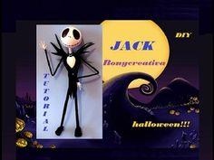 HALLOWEEN COMO HACER A JACK SKELETON / JACK SKELLINGTON HALLOWEEN DIY