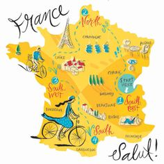 Map Of France Showing Paris.326 Best F R A N C E Images Map Of France France Map French Class