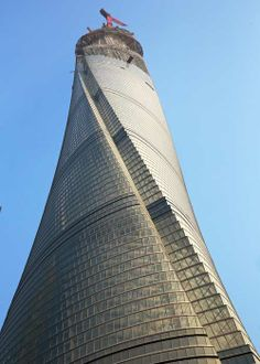 Shanghai Tower, China. Scheduled completion in 2015.
