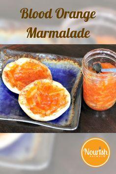 Rustic Blood Orange Marmalade