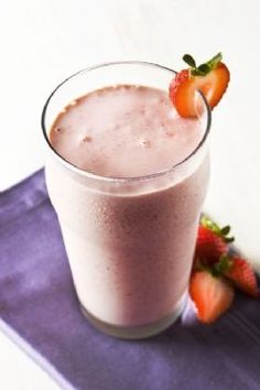 Strawberry Almond/Peanut Butter Fast Release Shake Recipe