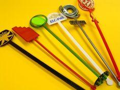 Agitadores para bebidas inyectados en plástico en cualquier forma, color  y diseño