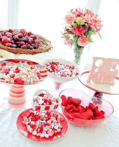 #Valentine Candy Dishes