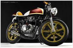 1974 Honda CB550K 'Lucy' by Hot Sake Cycles