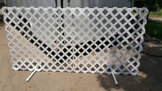 DIY: Lattice Fence Panels or Bust! - DogJoyTraining