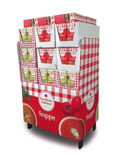 Display cardboard products