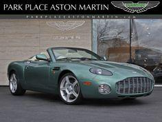 2003 Aston Martin  Volante green