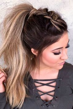 201 Best Ponytail Updo Images Hairstyle Ideas Ponytail