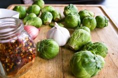 chopped brussels sprouts sautéed with shallots, garlic, crushed red pepper, and finished with parmesan cheese and a touch of cream | a flavor journal