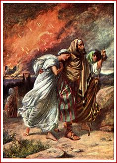 Sodom and Gomorrah, Lot and Lot's wife
